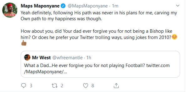 Screenshot 2019 10 10 Home Twitter - Twitter User Apologizes To Maps Maponyane In The Funniest Manner Ever